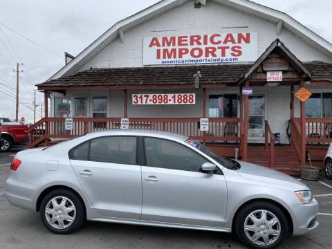 2012 Volkswagen Jetta for sale at American Imports INC in Indianapolis IN