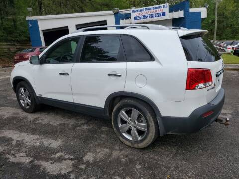 2013 Kia Sorento for sale at Moreland Motorsports in Conley GA