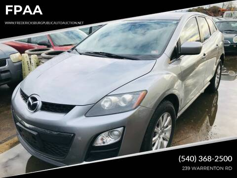 2012 Mazda CX-7 for sale at FPAA in Fredericksburg VA