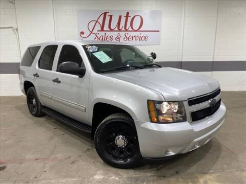 2014 Chevrolet Tahoe for sale at Auto Sales & Service Wholesale in Indianapolis IN