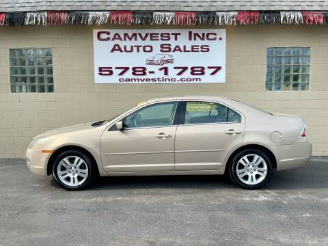 2006 Ford Fusion for sale at Camvest Inc. Auto Sales in Depew NY