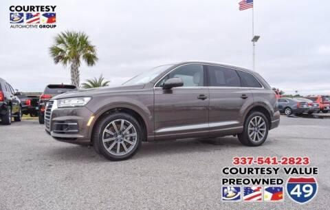 2018 Audi Q7 for sale at Courtesy Value Pre-Owned I-49 in Lafayette LA
