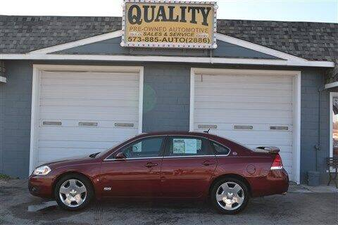 2008 Chevrolet Impala for sale at Quality Pre-Owned Automotive in Cuba MO