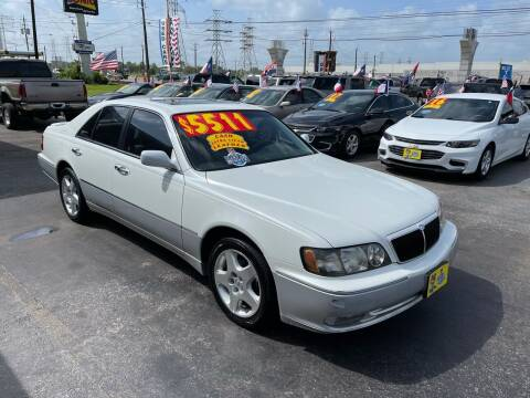 1999 Infiniti Q45 for sale at Texas 1 Auto Finance in Kemah TX