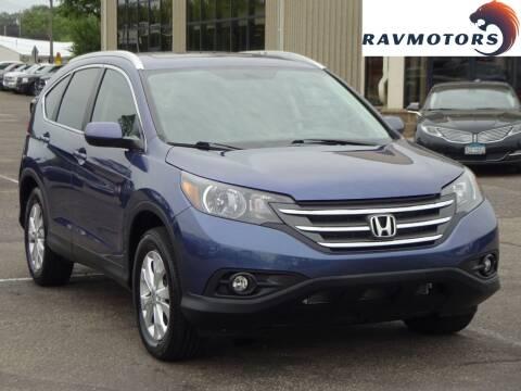 2014 Honda CR-V for sale at RAVMOTORS 2 in Crystal MN
