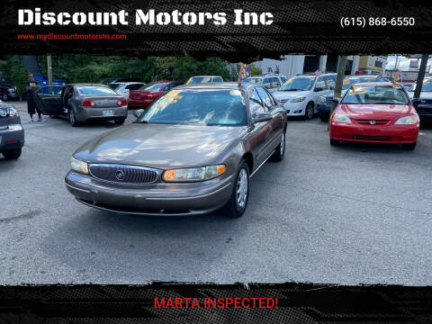 2002 Buick Century for sale at Discount Motors Inc in Madison TN