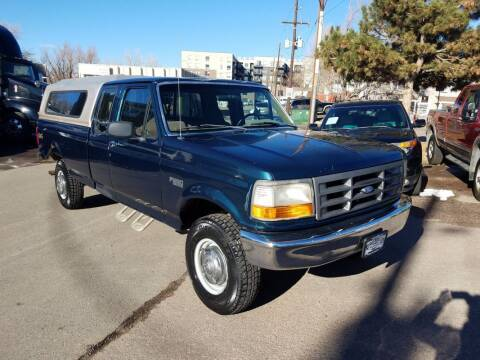 1997 Ford F-250 for sale at BERKENKOTTER MOTORS in Brighton CO