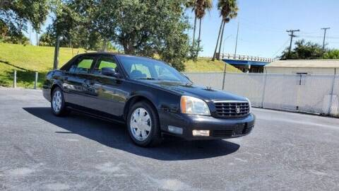 2003 Cadillac DeVille for sale at Select Autos Inc in Fort Pierce FL