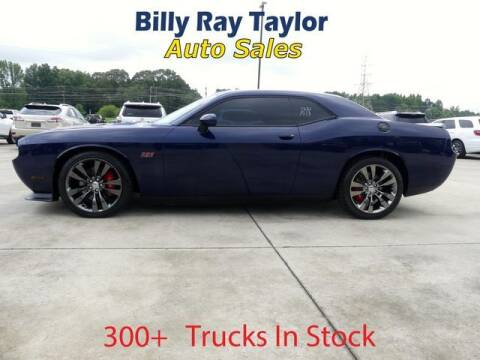 2013 Dodge Challenger for sale at Billy Ray Taylor Auto Sales in Cullman AL