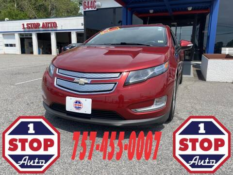 2013 Chevrolet Volt for sale at 1 Stop Auto in Norfolk VA