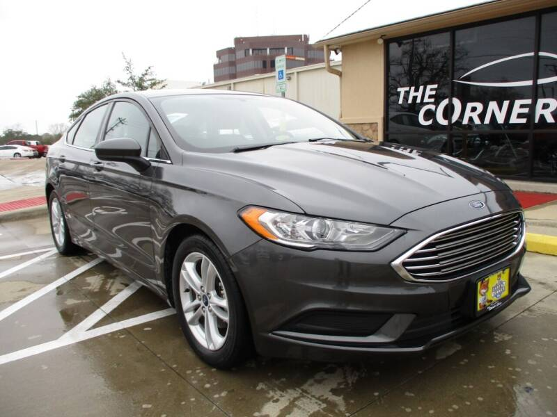 2018 Ford Fusion for sale at Cornerlot.net in Bryan TX