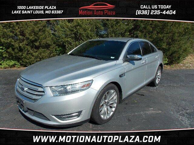 2013 Ford Taurus for sale at Motion Auto Plaza in Lakeside MO