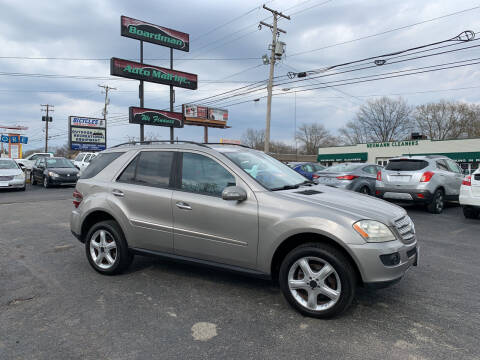 2008 Mercedes-Benz M-Class for sale at Boardman Auto Mall in Boardman OH