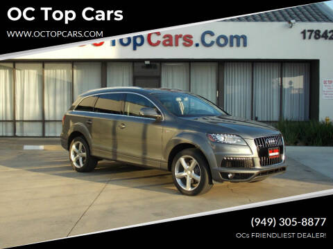 2014 Audi Q7 for sale at OC Top Cars in Irvine CA
