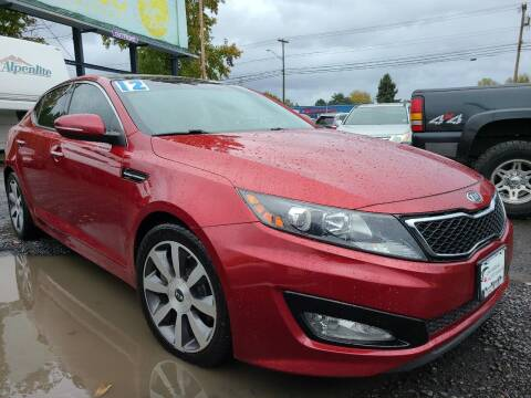 2012 Kia Optima for sale at Universal Auto Sales in Salem OR