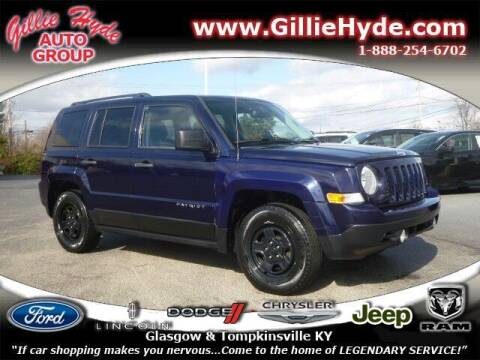 2016 Jeep Patriot for sale at Gillie Hyde Auto Group in Glasgow KY