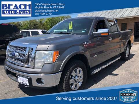 2011 Ford F-150 for sale at Beach Auto Sales in Virginia Beach VA