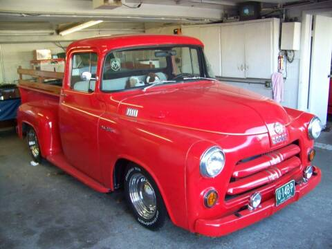 1956 Dodge D100 Pickup for sale at Collector Car Co in Zanesville OH
