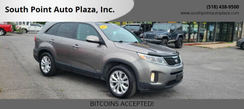 2014 Kia Sorento for sale at South Point Auto Plaza, Inc. in Albany NY