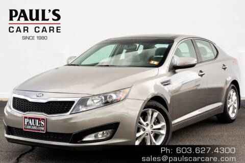 2013 Kia Optima for sale at Paul's Car Care in Manchester NH