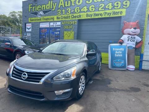 2013 Nissan Altima for sale at Friendly Auto Sales in Detroit MI