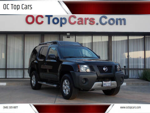 2013 Nissan Xterra for sale at OC Top Cars in Irvine CA