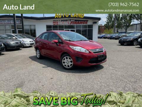 2013 Ford Fiesta for sale at Auto Land in Manassas VA