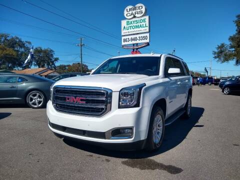 2019 GMC Yukon for sale at BAYSIDE AUTOMALL in Lakeland FL