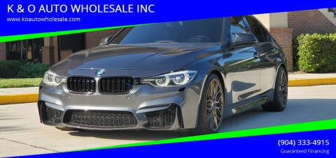 2016 BMW 3 Series for sale at K & O AUTO WHOLESALE INC in Jacksonville FL