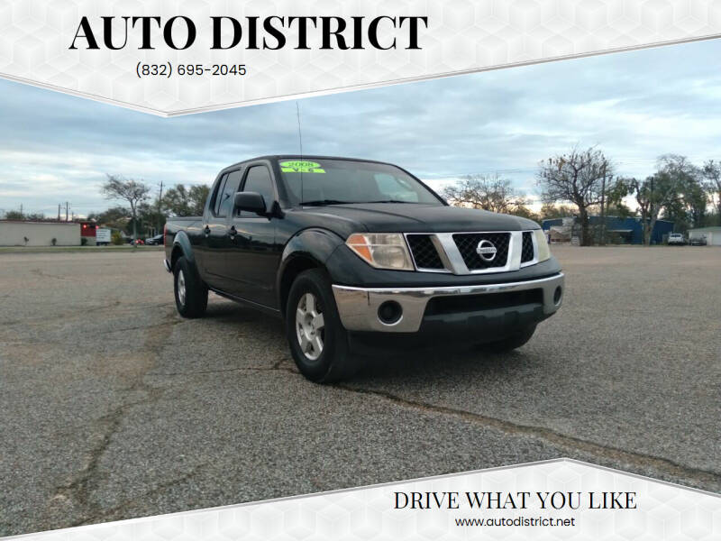 2008 Nissan Frontier for sale at Auto District in Baytown TX