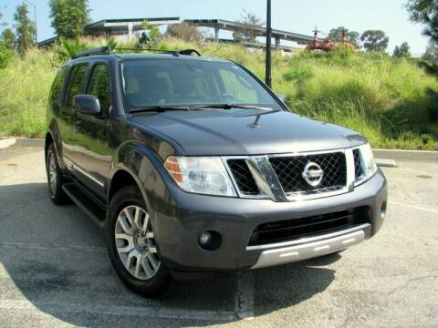 2012 Nissan Pathfinder for sale at Used Cars Los Angeles in Los Angeles CA