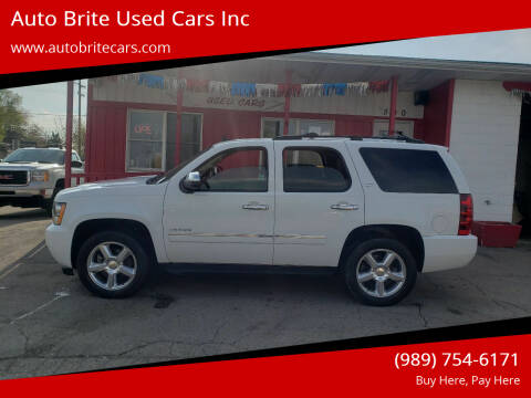 2013 Chevrolet Tahoe for sale at Auto Brite Used Cars Inc in Saginaw MI