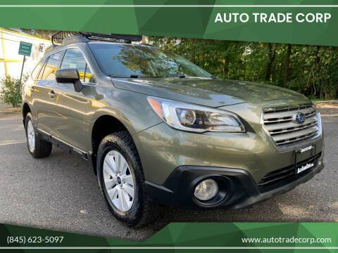 2015 Subaru Outback for sale at AUTO TRADE CORP in Nanuet NY