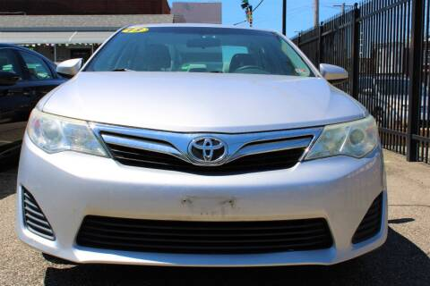 2013 Toyota Camry for sale at EZ PASS AUTO SALES LLC in Philadelphia PA