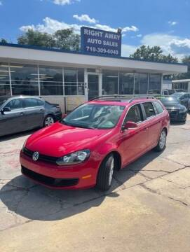 2011 Volkswagen Jetta for sale at Right Away Auto Sales in Colorado Springs CO