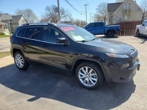 2014 Jeep Cherokee for sale at AFFORDABLE AUTO, LLC in Green Bay WI