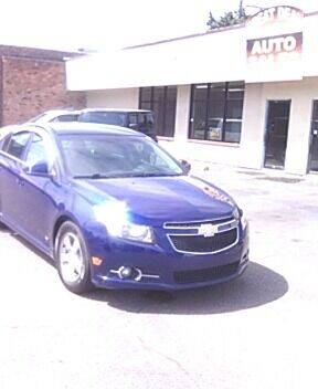 2012 Chevrolet Cruze for sale at GREAT DEAL AUTO SALES in Center Line MI