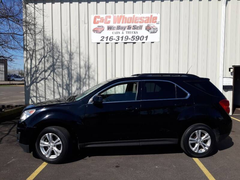 2013 Chevrolet Equinox for sale at C & C Wholesale in Cleveland OH