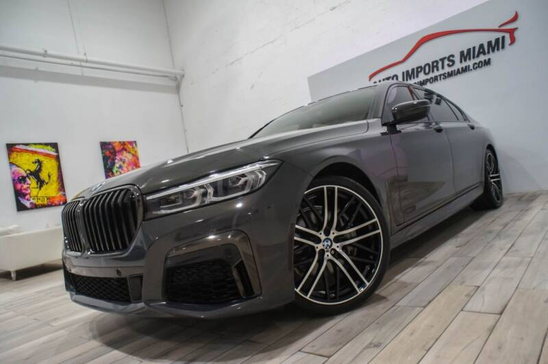 2020 BMW 7 Series for sale at AUTO IMPORTS MIAMI in Fort Lauderdale FL