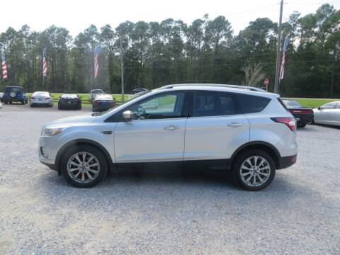 2017 Ford Escape for sale at Ward's Motorsports in Pensacola FL