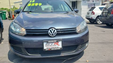 2013 Volkswagen Golf for sale at GTR Auto Solutions in Newark NJ
