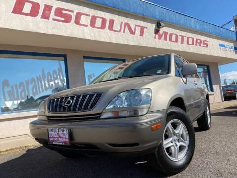 2002 Lexus RX 300 for sale at Discount Motors in Pueblo CO
