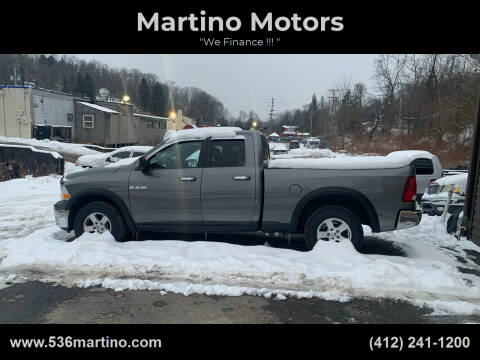 2010 Dodge Ram Pickup 1500 for sale at Martino Motors in Pittsburgh PA