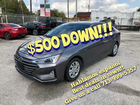 2020 Hyundai Elantra for sale at Saipan Auto Sales in Houston TX