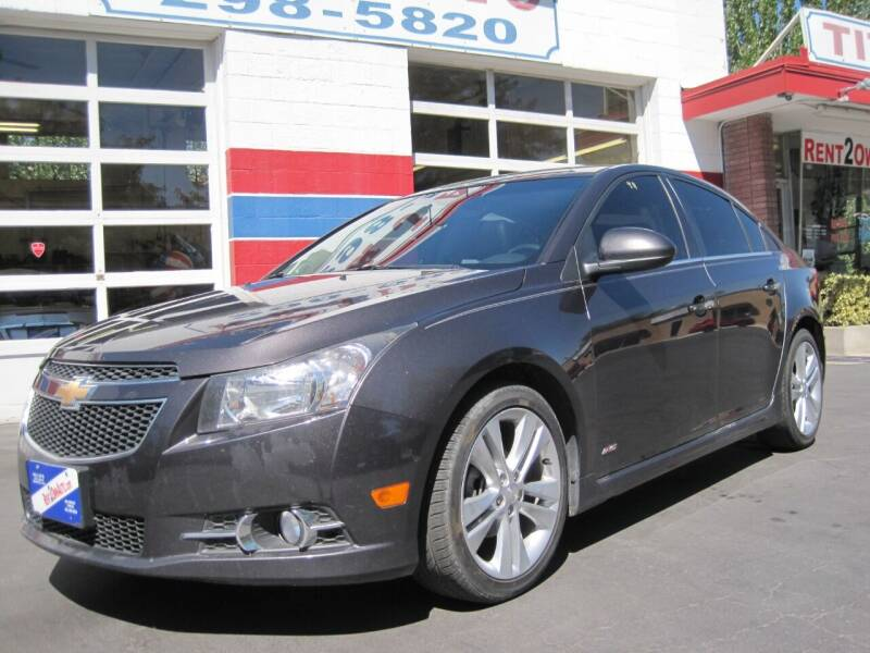 2014 Chevrolet Cruze for sale at K & J Auto Rent 2 Own in Bountiful UT