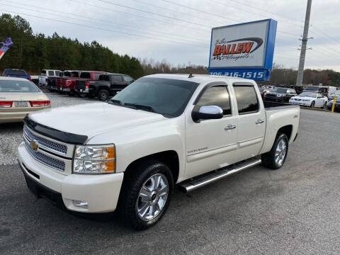 2012 Chevrolet Silverado 1500 for sale at Billy Ballew Motorsports in Dawsonville GA