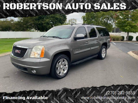 2007 GMC Yukon XL for sale at ROBERTSON AUTO SALES in Bowling Green KY