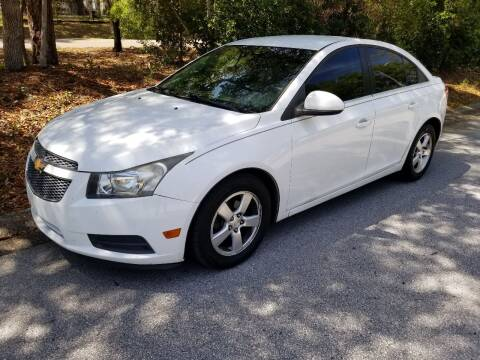 2012 Chevrolet Cruze for sale at Low Price Auto Sales LLC in Palm Harbor FL