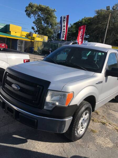 2014 Ford F-150 for sale at H.A. Twins Corp in Miami FL