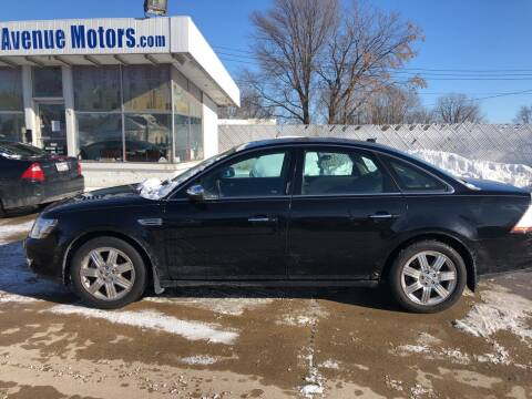 2008 Ford Taurus for sale at Velp Avenue Motors LLC in Green Bay WI
